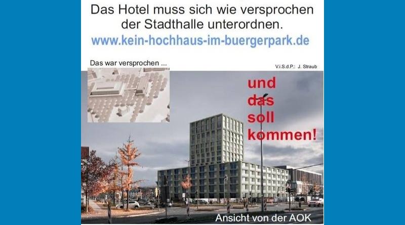 WiR – gegen das Hotelhochhaus und für einen lebenswerten Bürgerpark