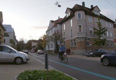 Video – RT – Fahrradstraße Charlottenstraße Kreuzung Aulberstraße