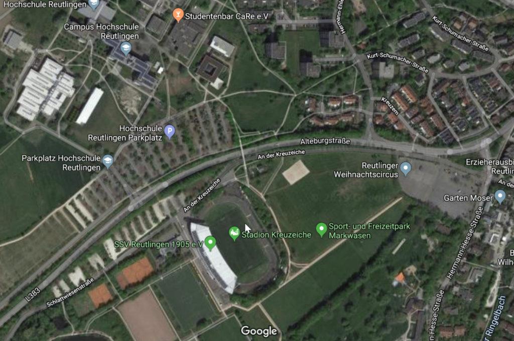 P&R Stadionparkplatz: Reduzierung des Verkehrs auf der Alteburgstraße